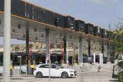 Peaje de la AP7 en San Juan (Alicante).