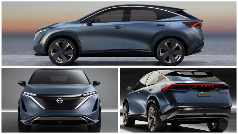 Nissan Ariya Concept: Así es el SUV eléctrico que llegará en 2021