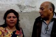 Livia y Juan, el matrimonio que podría ser desahuciado en Barcelona.