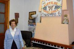 Clotilde Veniel, el año en el que se convirtió en centenaria.