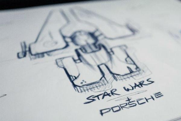 Porsche diseña una nave espacial para el estreno de la última aventura de Star Wars
