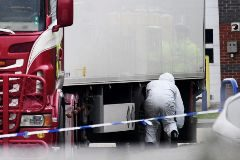 """Detenido el conductor del camión frigorífico donde han hallado 39 cadáveres """"en condiciones horrendas"""""""