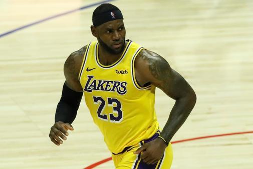 Los Angeles (United States), 22/10/2019.- LA Lakers forward...