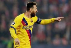En directo: Messi adelanta al Barça en Praga en el minuto 3