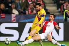 En directo: El Barça, de nuevo por delante en Praga