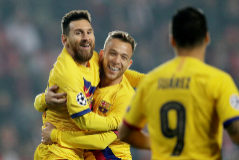 Champions League - Group F - SK Slavia Prague v FC <HIT>Barcelona</HIT>