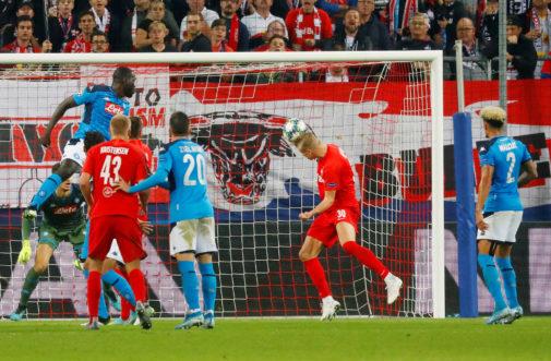 Champions League - Group E - FC Salzburg v Napoli