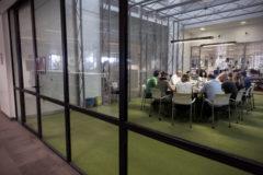 Sala de reuniones de la redacción de EL MUNDO.