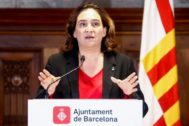 La alcaldesa Barcelona, Ada Colau.