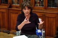 Dolores Delgado apuesta por reformar el Código Penal para castigar la apología del franquismo