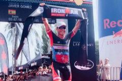 La penúltima hazaña de Gómez Noya: gana el primer Ironman de su carrera