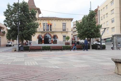 Ambiente tranquilo tras conocerse la sentencia del Supremo en la plaza...