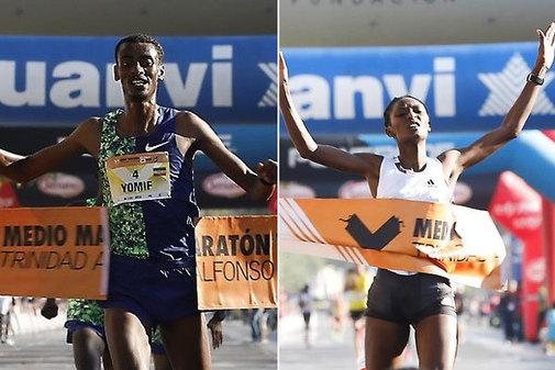 Un corredor popular tira a Sifan Hassan y deja al medio maratón de Valencia  sin récord mundial | Deportes
