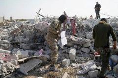 El lugar de la muerte de Al Bagdadi, en la provincia siria de Idlib.