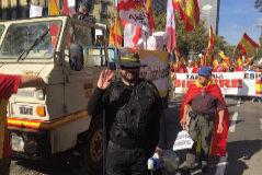 'El Zorro' apolítico que defiende la unidad de España