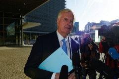 El jefe negociador de la UE, Michel Barnier.