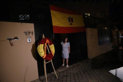 Fachada de la sede familiar de los Franco hoy que antes albergó el Colegio LAE.