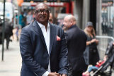 """NEW YORK, NEW YORK - SEPTEMBER 30: Mathew <HIT>Knowles</HIT> is seen arriving to """"Good Morning America"""" on September 30, 2019 in New York City. (Photo by Bauzen/GC Images) - para papel - pablo gil"""