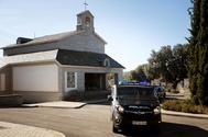 Mausoleo en Mingorrubio donde fueron reinhumados los restos de Franco.