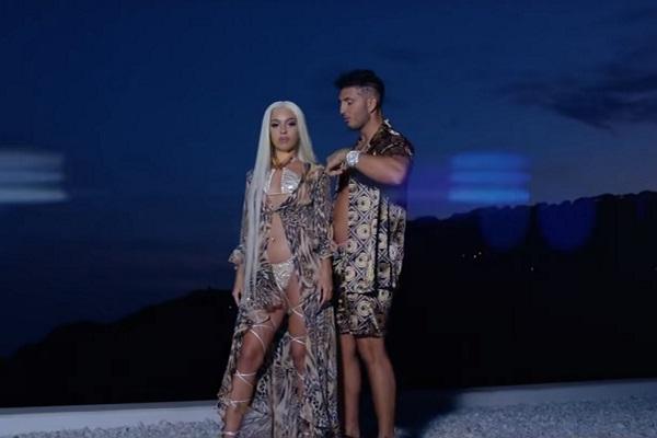 Bad Gyal y Omar Montes en el videoclip de Alocao.