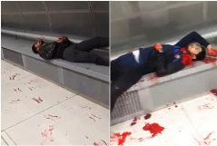 Imágenes de las víctimas de la pelea en Badalona difundidas por redes sociales.