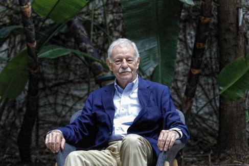 El escritor Eduardo Mendoza en Barcelona.