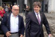 El ex presidente de la Generalitat de Cataluña Carles Puigdemont.