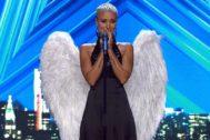 Sara, 'la mujer de hojalata', emocionó al jurado de Got Talent en Telecinco