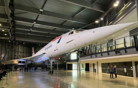 Interior del Museo Aeroespacial.