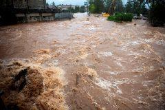 Inundación en Virgen de la Peña (Cantabria)