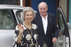 Los Reyes Don Juan Carlos y Doña Sofía en una imagen reciente.