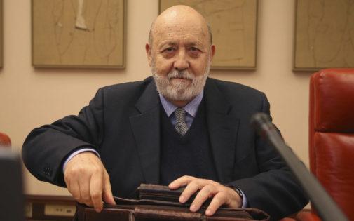 El presidente del CIS, José Félix Tezanos, en una comparecencia en...