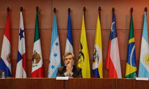 El presidente del CGPJ, Carlos Lesmes, en la inauguración del curso...