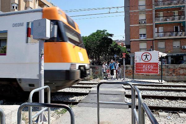 Estación de tren de Sant Feliu.