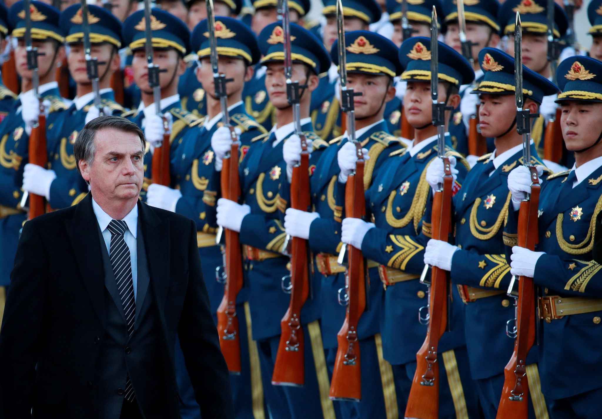 -FOTODELDÍA- HHY13. PEKÍN (CHINA).- El presidente de Brasil, Jair...