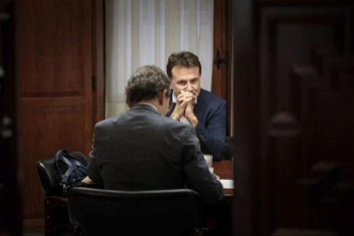 Giuseppe Grezzi, ayer, durante la comisión de investigación por la estafa de la EMT.