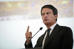 Manuel Valls, en la presentación del manifiesto 'La España que reúne', este miércoles, en Madrid.