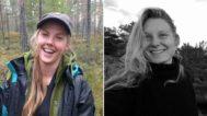 Las dos turistas asesinadas en diciembre de 2018.
