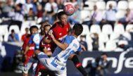 Raíllo despeja una pelota durante el partido ante el Leganés del pasado fin de semana.