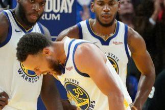 Preocupante lesión de Stephen Curry en la mano izquierda