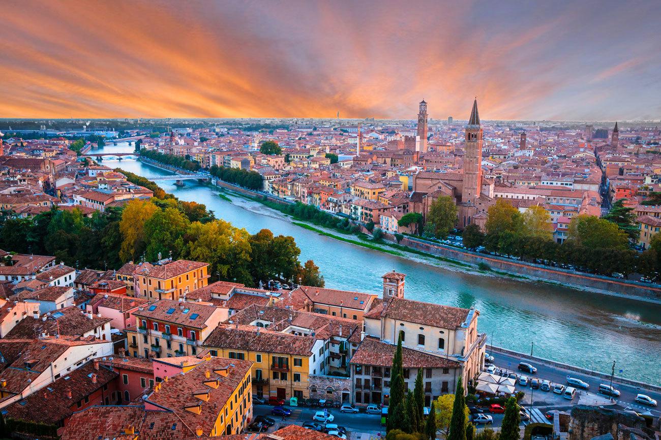 Teniendo en cuenta que en el norte de Italia se hallan ciudades del...