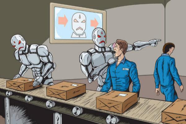 Los robots no te quitarán el trabajo pero lo harán más estresante