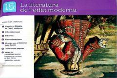 Retrato invertido de Felipe V como representación de la literatura de la Edad Moderna.