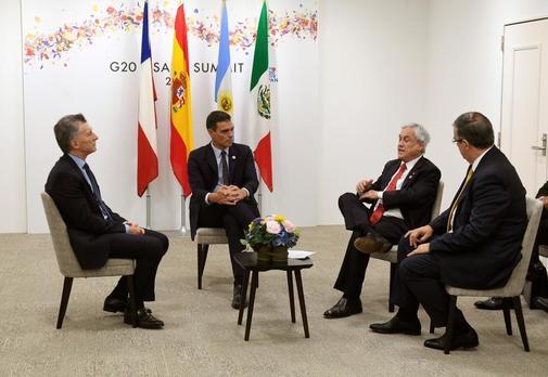 Pedro Sánchez pacta con Sebastián Piñera celebrar la cumbre del clima en Madrid