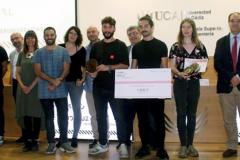Dos estudiantes de la Universidad de Málaga ganan el I Concurso de Diseño Industrial Andaluz