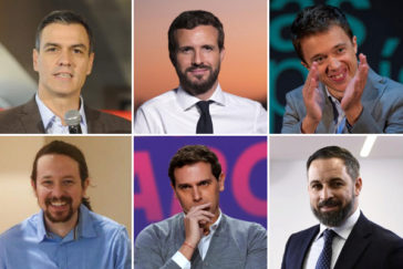 Así afrontan los partidos la campaña: todos contra Sánchez