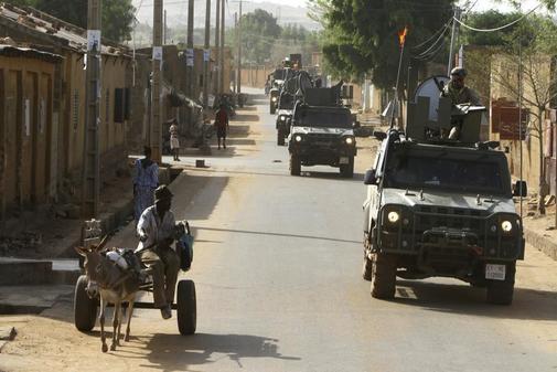 Misiones internacionales del ejército español en Mali.