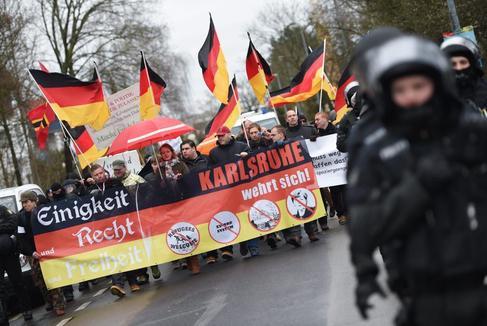 La ciudad alemana de Dresde declara el estado de emergencia nazi