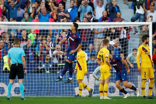 La Liga Santander - <HIT>Levante</HIT> v FC Barcelona
