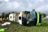 33 heridos, dos de ellos españoles, en un accidente de autobús